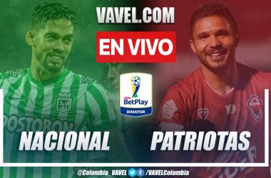 Resumen Atlético Nacional vs Patriotas (3-0) por la ida de los octavos de final de la Copa Colombia 2021