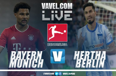 Resumen Bayern Múnich vs Hertha Berlin en Bundesliga 2021 (5-0)
