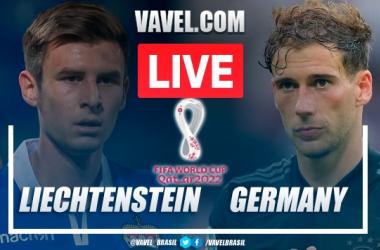 Goals and Highlights: Liechtenstein 0-2 Germany in 2022 World Cup Qualifiers
