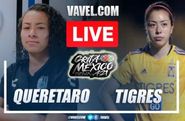 Goals and Highlights: Queretaro Femenil 1-2 Tigres Femenil in Liga MX Femenil 2021
