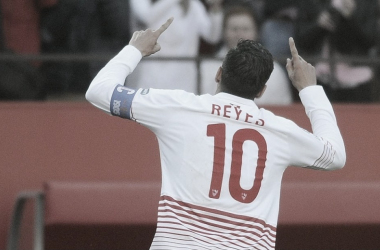 José Antonio Reyes celebrando un gol. | Imagen: @LaLiga