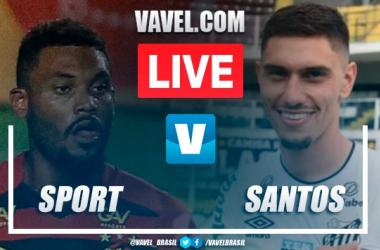 Melhores momentos Sport x Santos pelo Campeonato Brasileiro (0-0)
