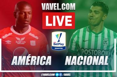 Goals and Highlights: América de Cali 0-2 Atlético Nacional  in BetPlay League 2021-II