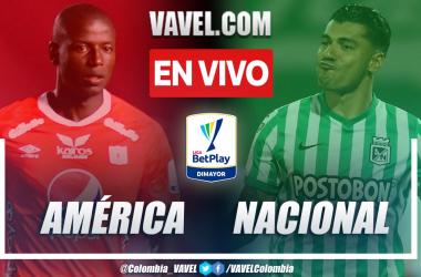 Resumen y goles: América de Cali 0-2 Atlético Nacional en la fecha 15 por Liga BetPlay 2021-II
