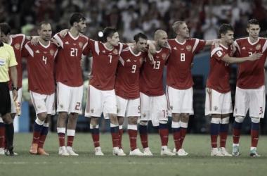 Rusia quedo eliminada en penales I Foto: Prensa FIFA