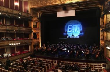 Teatro de La Zarzuela antes de comenzar el ensayo general del concierto | Foto: Roberto Álvarez