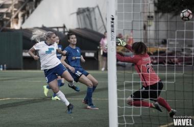 Adriana Leon scored her third goal of the season | Source: VAVEL USA - Brandon Farris