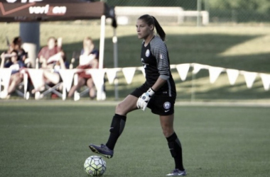 Aubrey Bledsoe, Week 9, 12, and 13 NWSL Save of the Week | Source: Orlando Sentinel