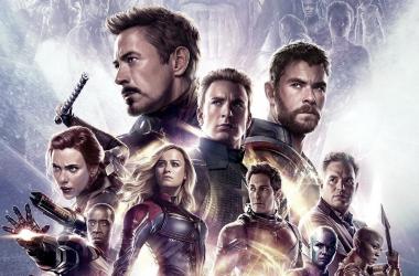 Póster oficial IMAX de 'Vengadores: Endgame'. Foto: IMAX