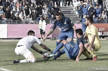 Empate en el Fernando Torres / Foto: CF Fuenlabrada