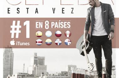 Cepeda debuta con 'Esta vez' / Foto: Twitter oficial de Cepeda (@Cepeda_ot2017)