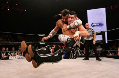 Eddie Edwards and Robbie E battle it out in the Tag Team Specialist Group / TNA Impact