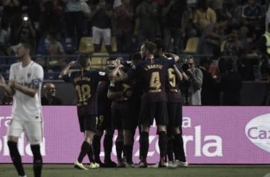 Barcelona logro la Supercopa ante el Sevilla I Foto: @RFEF