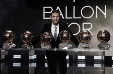 Messi consigue el sexto Balón de Oro