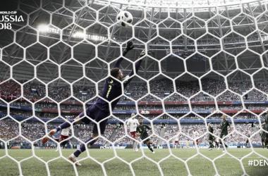 Reparto de puntos en un duelo muy equilibrado / Foto: Twitter oficial FIFA World Cup (@FIFAWorldCup)