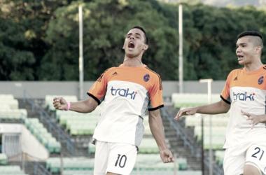 El naranja rescató un punto en un partido en el que tuvo la suerte de espaldas. (Fotografía: Deportivo La Guaira)