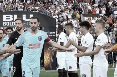 Valencia y Atleti jugaron un intenso partido I Foto: @LaLiga