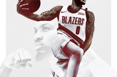 NBA 2K21 Cover: Damian Lillard