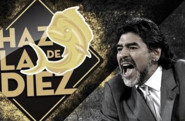 Maradona sera presentado el domingo I Foto: Dorados