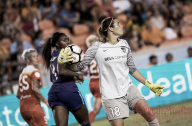 Lydia Williams made over 22 appearances for the Houston Dash | Photo: E. Sbrana - EarchPhoto