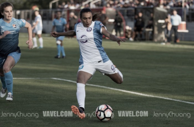 Marta is named to her third consecutive NWSL Team of the Month for 2017 | Photo: Jenny Chuang - VAVEL USA
