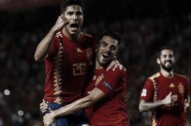 España brillo ante Croacia I Foto: UEFA