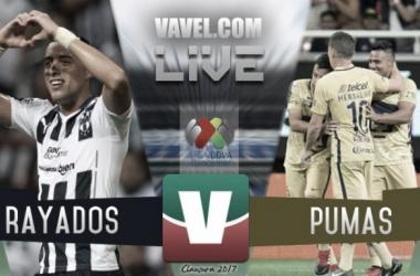 Monterrey vence a un foragido Pumas en casa