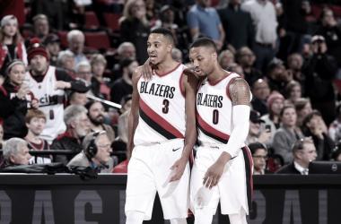 Lillard & McCollum Troll Clippers After Elimination