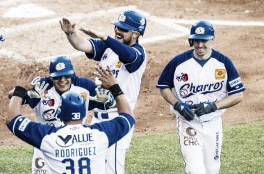 Rodríguez pegó un Grand Slam para encaminar la victoria   Foto: Cortesía Charros de Jalisco