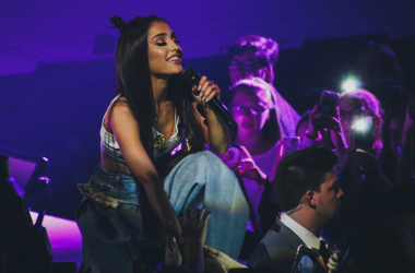 Ariana Grande en el Dangerous Woman Tour. Fuente: Ariana Grande México