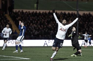 Resumen Tottenham 6-1 Rochdale en FA Cup 2018