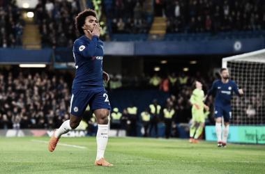 El Chelsea vence y convence durante 75 minutos