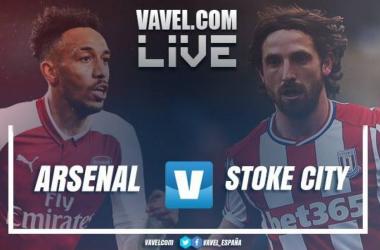 Resumen Arsenal 3-0 Stoke City en Premier League 2018