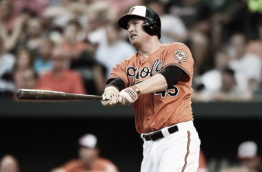 Trumbo will stay in Baltimore for at least three more seasons. Photo: MLB.com