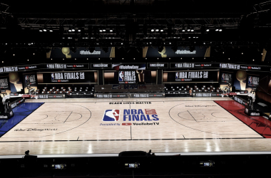 NBA Presents New Court Design For 2020 NBA Finals
