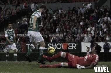 Boselli abrió el marcador en el Jalisco | Foto: Fabián Meza / VAVEL