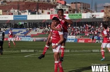 El delantero Guillermo Martínez logro marcar en este partido y se coloca como líder de goleo con 7 anotaciones en el Clausura 2018.