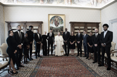 Players Travel to Vatican City