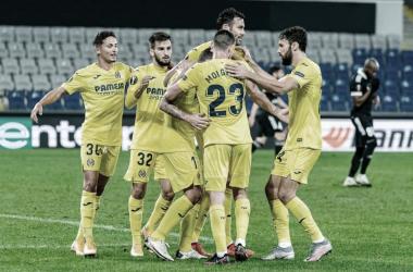 "<p class=""MsoNormal"">Partido de Europa League// Foto: Villarreal C.F&nbsp;<o:p></o:p></p>"