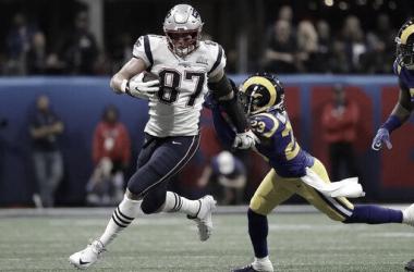 Gronkowski fue determinante en la consagración de la Super Bowl LIII // Foto: NFL Official.