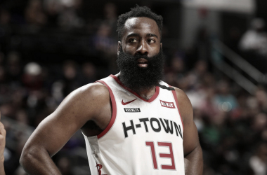 """James Harden:""""I'm just focused on being here"""""""