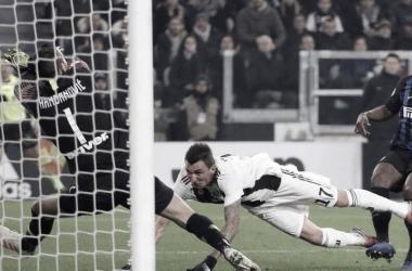 Juventus le gano al Inter I Foto: Prensa SerieA