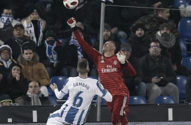 Navas, el mejor del Madrid / Foto: Real Madrid CF