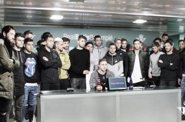 El Real Betis muestra su apoyo a Zozulya mediante un comunicado
