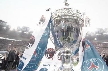 La Copa de Francia esperaba un ganador   Foto: Ligue1