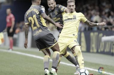Castillejo en el encuentro ante las Palmas / Foto: La Liga