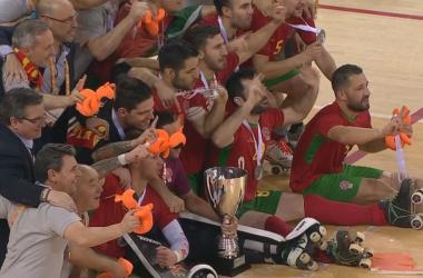 Portugal campeão mundial de Hóquei em patins