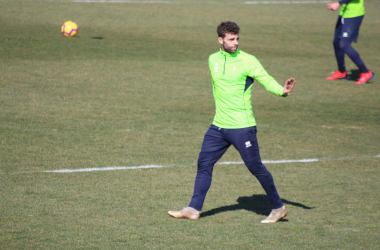 Rodri tiene la oportunidad de ser titular en Córdoba por la sanción de Ramos. Foto: Oscar Yeste