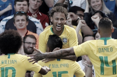 Neymar y mas guiños al Real Madrid | Foto: Prensa CBF