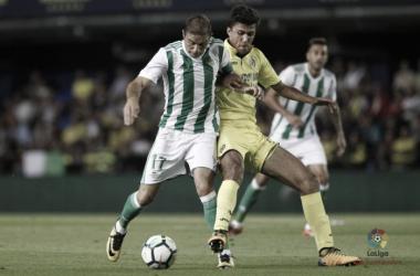 Última visita de los verdiblancos en el Estadio de la Cerámica / Foto: La Liga